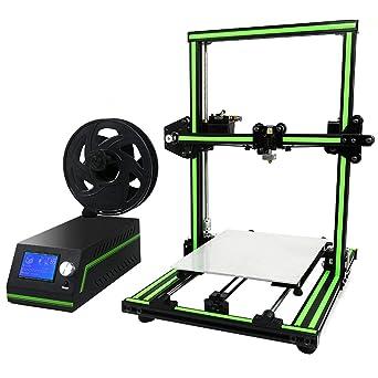 Funnyrunstore E10 Pantalla LCD Impresora 3D profesional Marco de ...