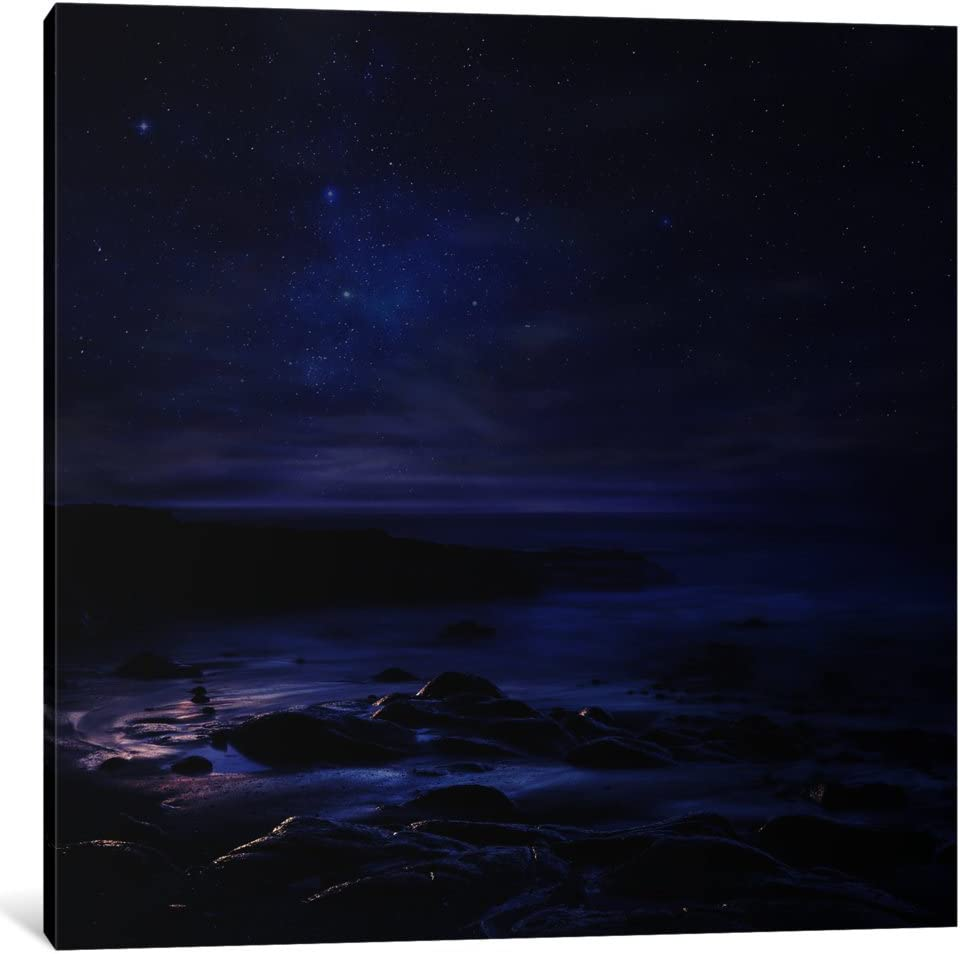 """iCanvasART 1 Piece Insomnia Canvas Print by Sebastien Del Grosso, 26"""" x 26""""/0.75"""" Depth"""
