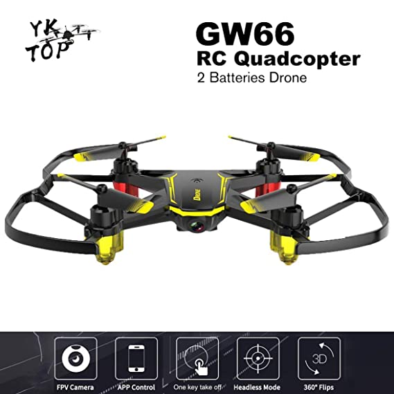 Heaviesk Global Drone GW66 Mini Drone FPV Drones RC Helicóptero ...