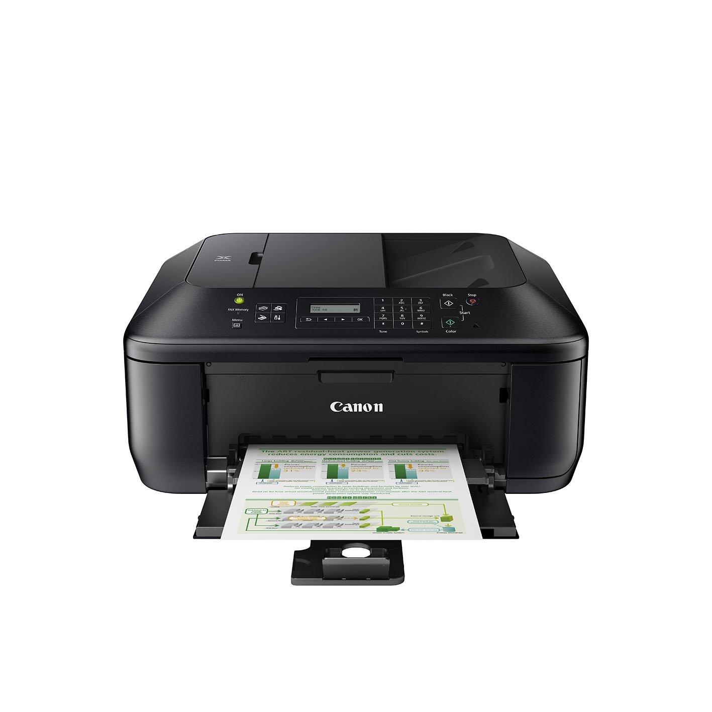 Canon PIXMA MX395 - Impresora multifunción de Tinta - B/N 8.7 PPM, Color 5 PPM