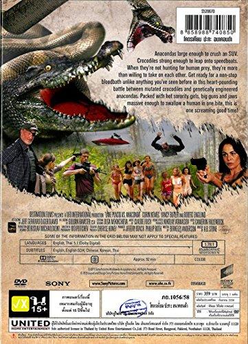 Lake Placid Vs. Anaconda (DVD Region 3) Monster Movie Brand New Factory Sealed