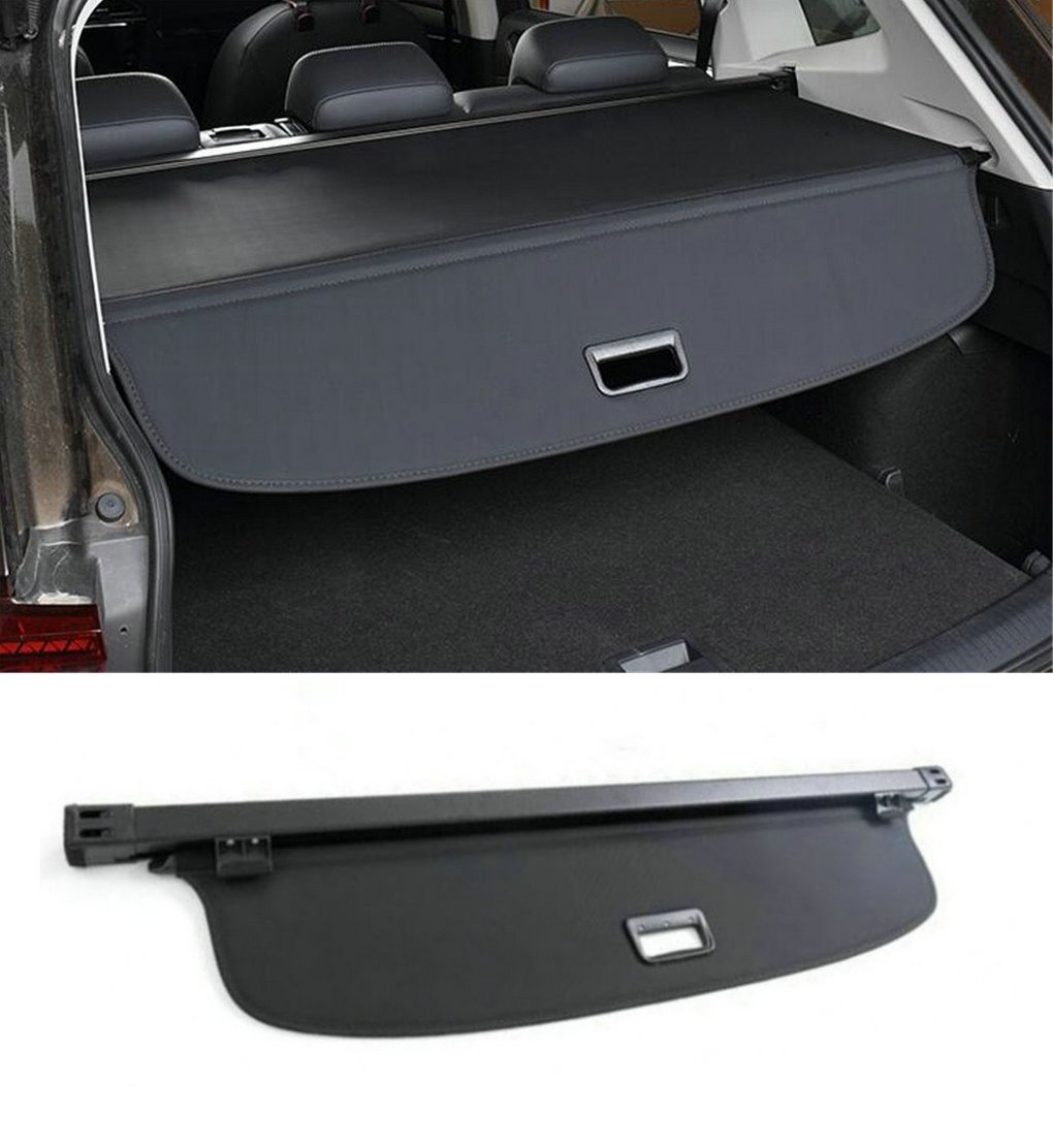 Black Cargo Cover fits 2014-2018 Toyota Rav4 Retractable Security Cover