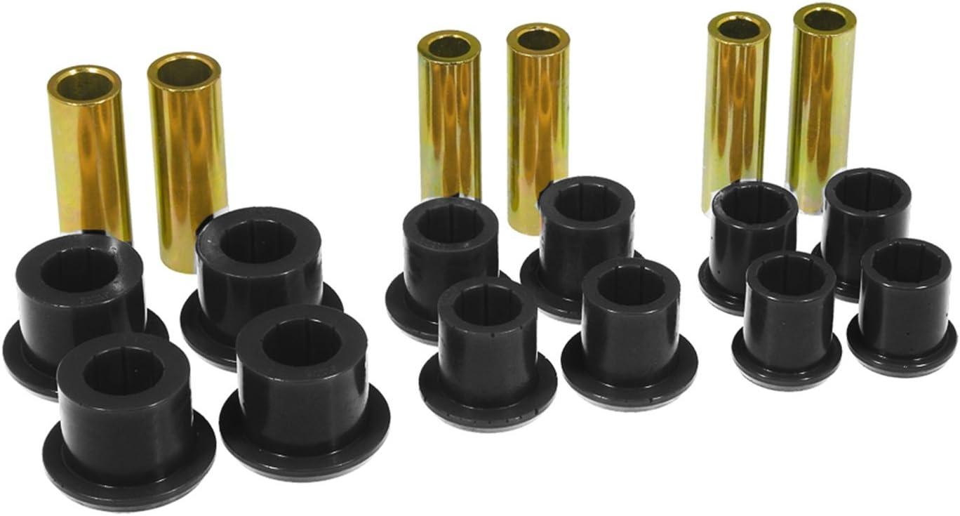 Prothane 6-1024-BL Black Rear Spring Eye and Shackle Bushing Kit