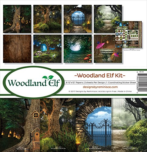 (Reminisce Woodland Elf Scrapbook Collection Kit )