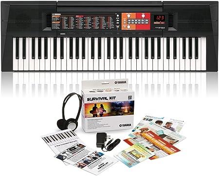 Yamaha PSR-F51 teclado portátil de 61 teclas con kit de ...