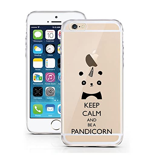 4 opinioni per iPhone Cover di licaso® per il Apple iPhone 5 & 5S SE di TPU Silicone Pandicorn