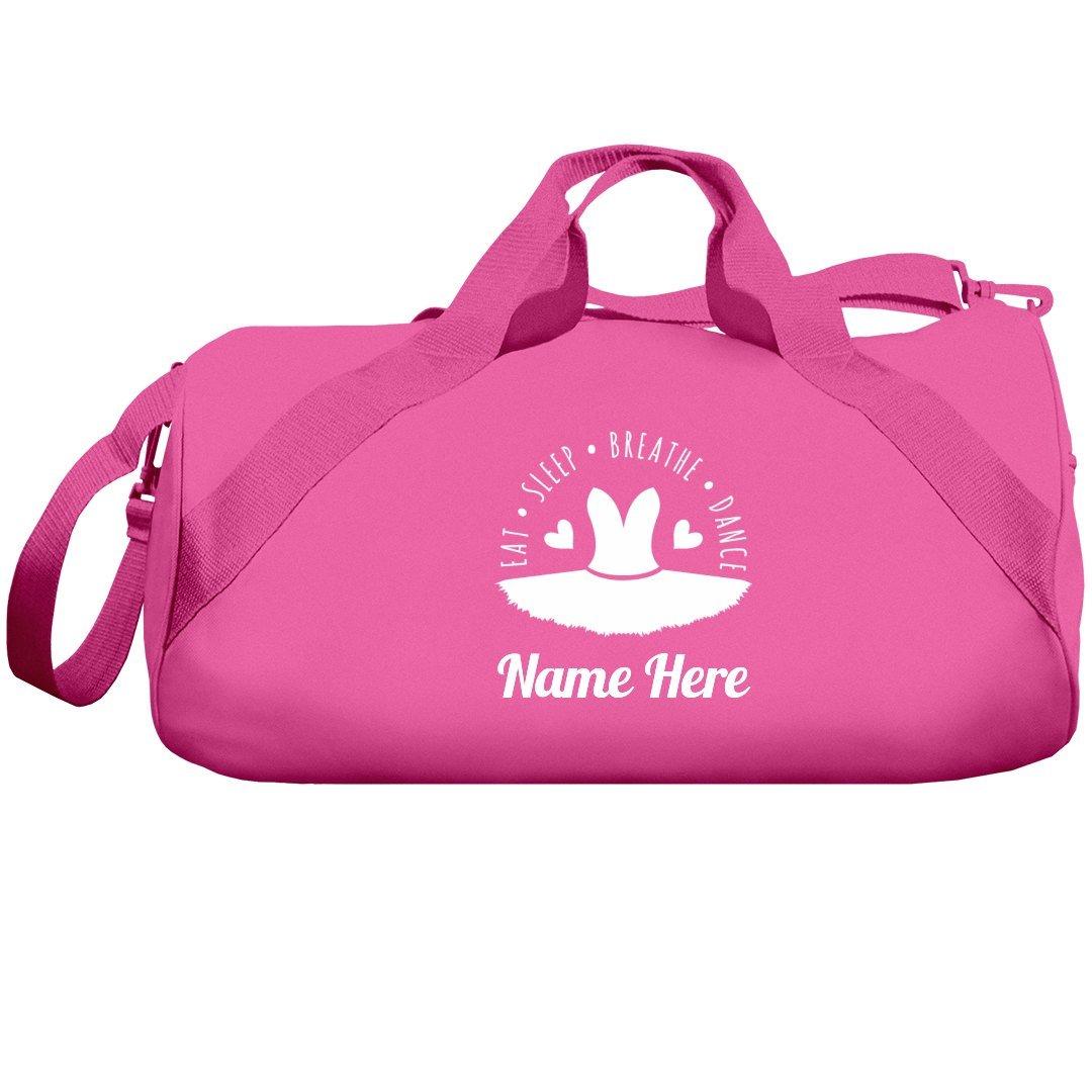Eat Sleep Dance Custom Name Bag: Liberty Barrel Duffel Bag