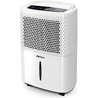Pro Breeze 12 liter/dag Luchtontvochtiger met Digitale Vochtigheidsweergave, Slaapstand, Doorlopende Afvoer…