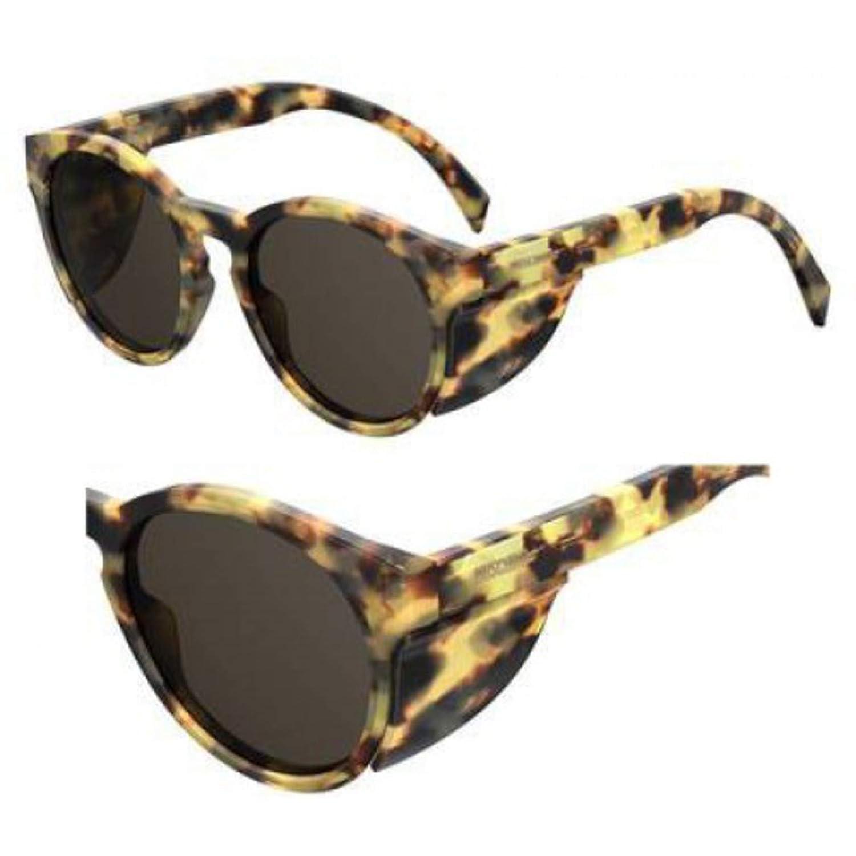 Sunglasses Moschino Mos 17 //S 0C9B Havana Honey//IR gray blue lens