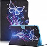 (US) iPad mini Case, iPad mini 2 Case, Dteck Butterfly Series Case with Card Slot Pouch [Auto Sleep/Wake Feature] Smart Magnetic Closure Stand Cover for Apple iPad Mini 3/2/1 (Dream Butterfly)