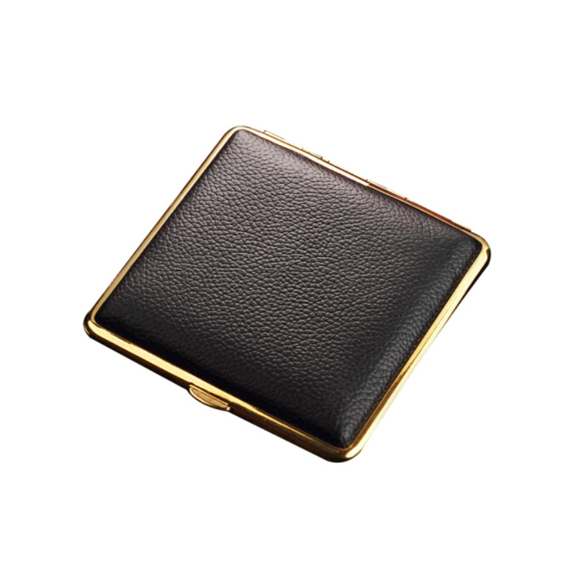 WENPINHUI Cigarette Case Automatically Open Ultra-Thin Cortical Magnet Cigarette Box Creative Moisture-Proof Anti-Pressure Men's Cigarette Case Can Hold 20 Cigarettes by WENPINHUI