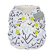 GroVia Newborn All in One Snap Reusable Cloth Diaper (AIO) (Ballot)