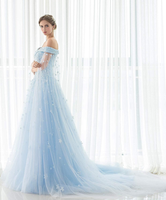 Robe de Mariage Robe de mari/ée Robe de Ceremonie Wedding Dress Robe de soir/ée Robes de princesse Robes en dentelle fleurs Robe de Cinderella Robes de bal Robe de f/ée reine du parti Wedding Dresses