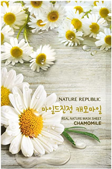 Nature Republic] Real Nature mascarilla facial, 10 unidades, cosméticos coreanos: Amazon.es: Belleza