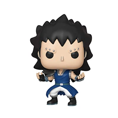 Funko Pop! Animation: Fairy Tail - Gajeel, Multicolor: Toys & Games