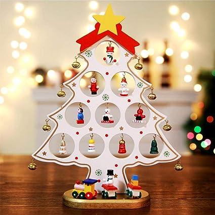 Decorazioni Natalizie Per Ufficio.Hutiee Mini Albero Di Natale Ufficio Di Decorazione Di