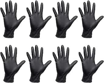 Beaupretty 40 stks wegwerp nitril handschoenen voor festival voorbereiding ambachtelijke schilderij tuinieren koken schoonmaken maat M zwart