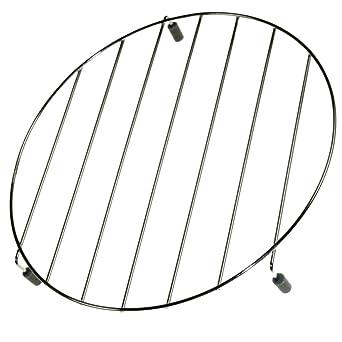 Rejilla baja (dia235) horno microondas 5026W1A064E LG: Amazon.es ...