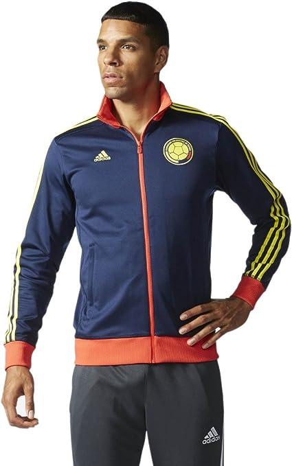 a737595f3c Amazon.com : adidas Mens FCF Colombia Track Jacket- Collegiate Navy ...