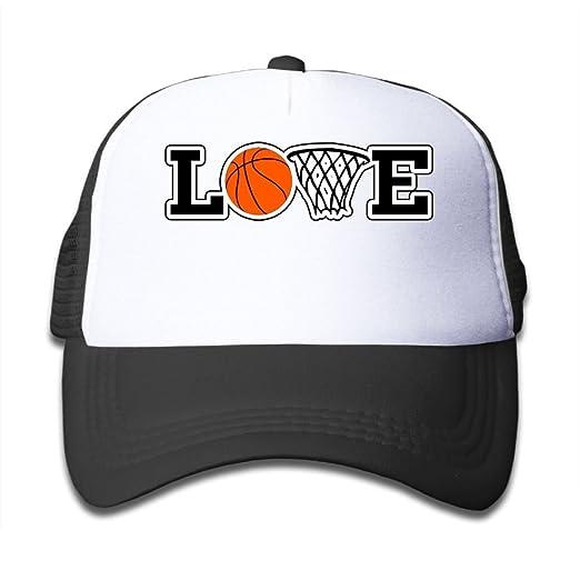 Aiw Wfdnn Love Basketball Adjustable Mesh Baseball Caps Kids Trucker Hat  Boy Girls 949055cdf7d