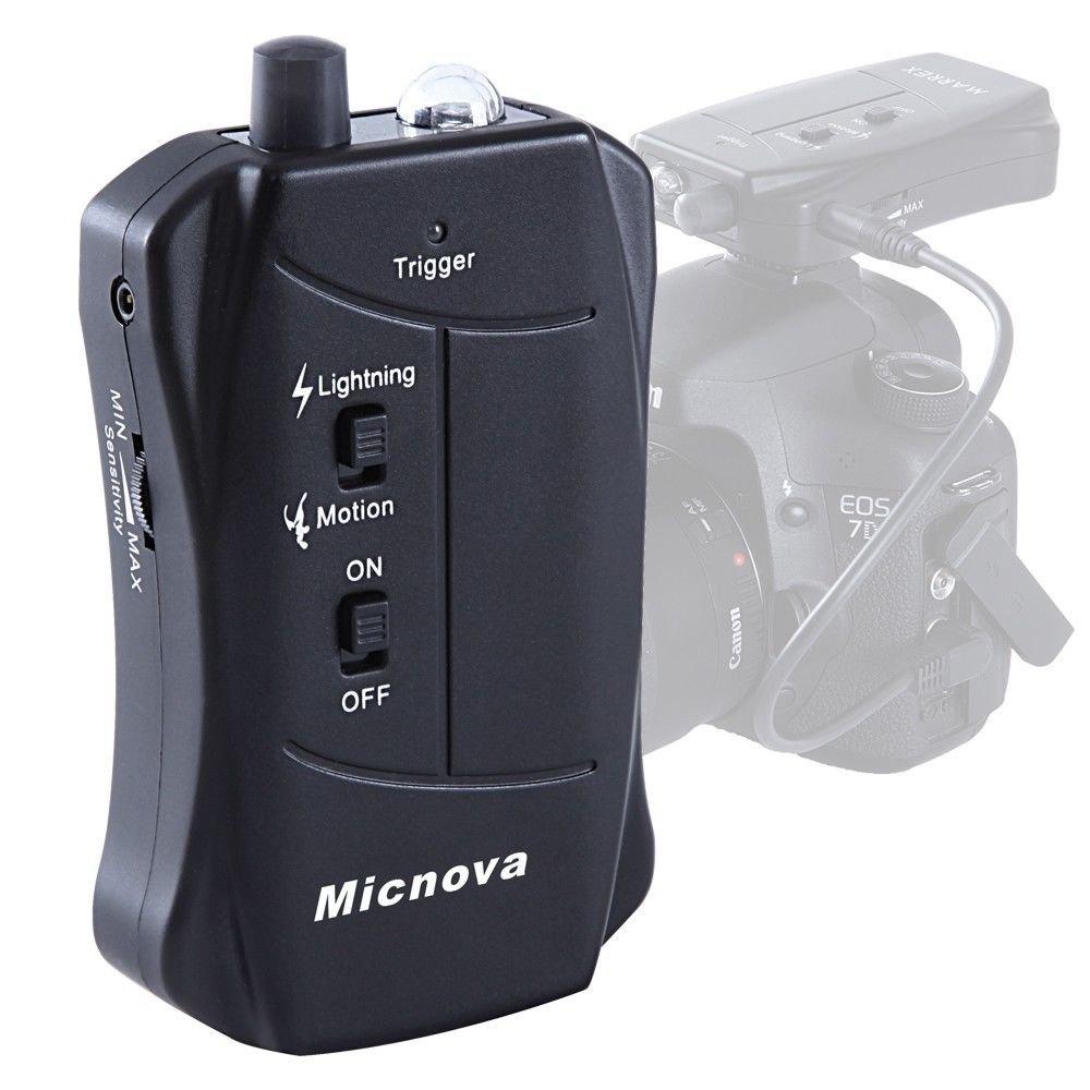 Amazon.com : Micnova Mq-lc03n Lightning & Motion Activated Camera ...