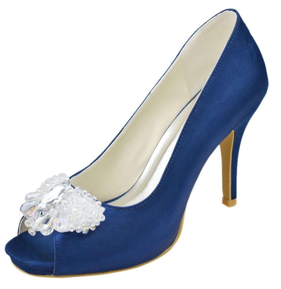Minitoo 13362 bleu , Peep-Toe Minitoo femme Bleu - bleu 0d8d193 - shopssong.space