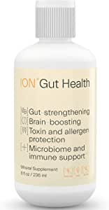 ION*Gut Health | Promotes Digestive Wellness, Strengthens Immune Function, Alleviates Gluten Sensitivity, Enhances Mental Clarity | 2-Week Supply (8 oz.)