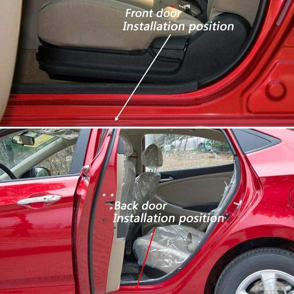 Grtodnz 2 Pcs Einstiegsleisten Aus Edelstahl Auto Scuff Aufkleber Einstiegsleiste Aufkleber Für Opel Astra Corsa Adam 2015 2020 Küche Haushalt