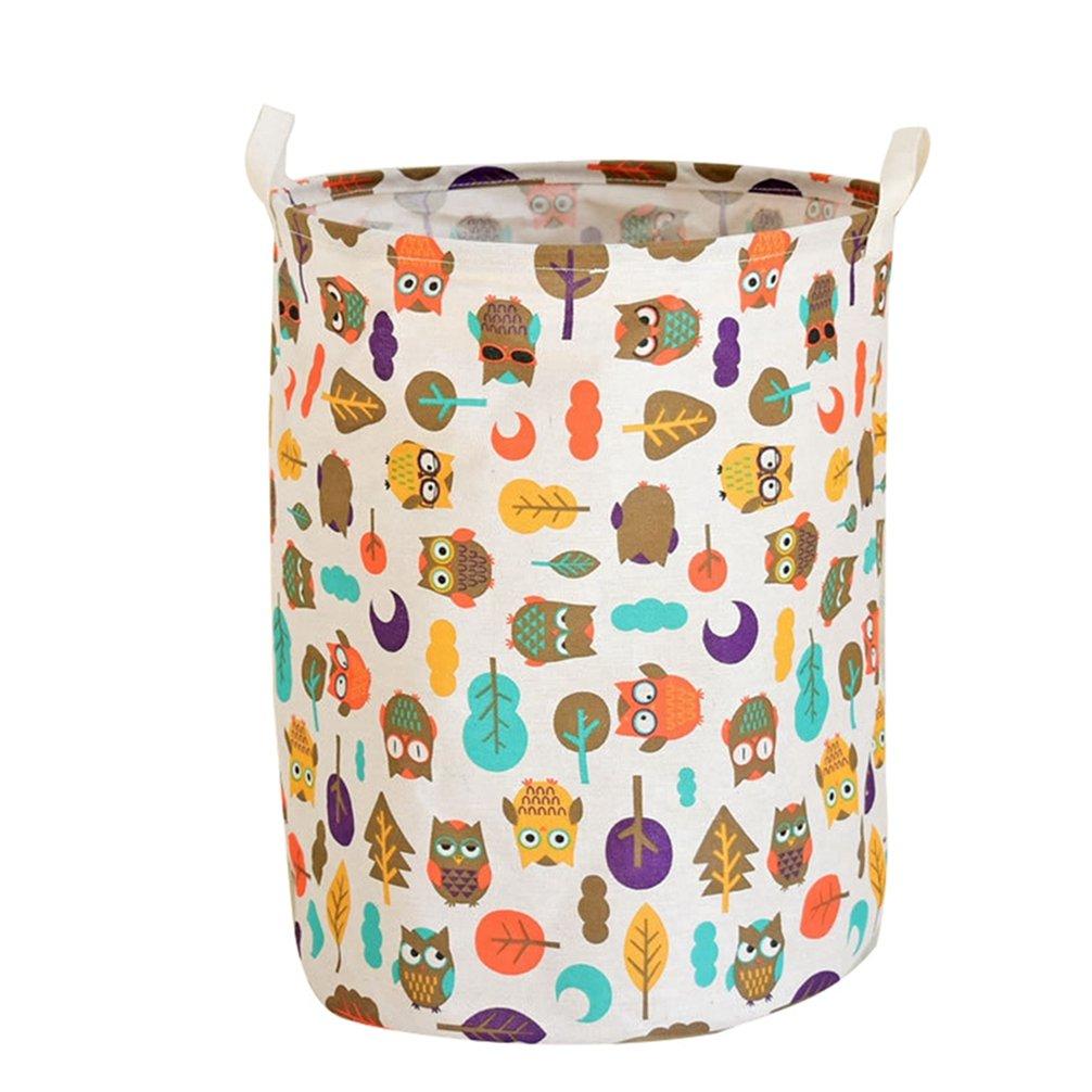 taglia unica Tela cesta portabiancheria o contenitore per giocattoli e vestiti dei bambini Cesto in stile nordico in tela 17#
