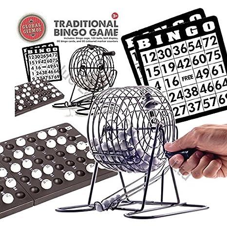 Traditional Bingo Lotería Familia Set juegos - JAULA BOLAS ...