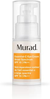 product image for Murad Environmental Shield Essential-C Eye Cream Broad Spectrum SPF 15 - Anti-Aging Eye Cream with Retinol - Hydrating Eye Cream Protects and Smooths, 0.5 Fl Oz
