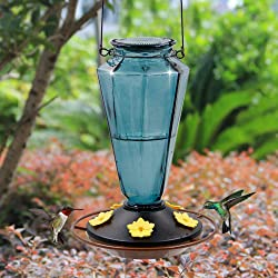 Juegoal Glass HB Feeder for Outdoors