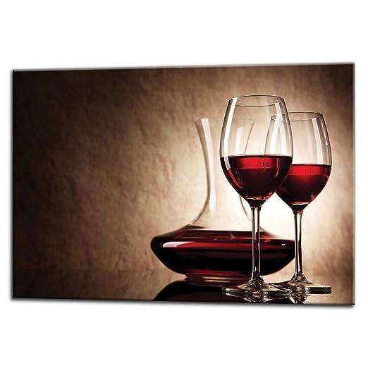 Kuchenruckwand Glas Spritzschutz 75 X 60 Cm Weinglaser