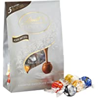 Lindt LINDOR Assorted Chocolate Truffles, Kosher 15.2 Ounce Bag
