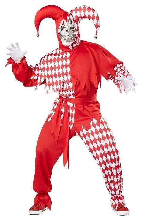California Costumes 01747 - Disfraz De Bufón Malvado / Joker ...