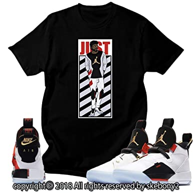 c5ba3eba8daf54 Custom T Shirt Matching Style of Air Jordan 33 XXXIII Future Flight JD 33-1- 2 at Amazon Men s Clothing store