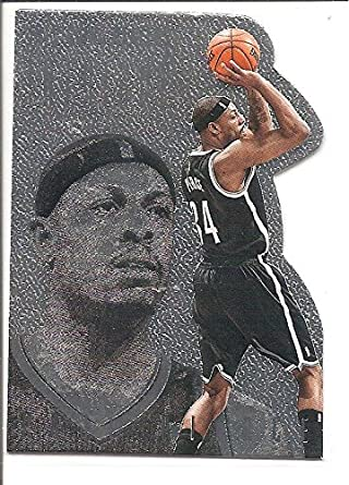 Paul Pierce Brooklyn Nets 2013-13 Panini Intrigue Die Cut Basketball Card   176 d272d2d7cea0