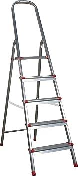 Escalera aluminio escalera escalera escalera de aluminio pintor Escalera escalera 5 peldaños