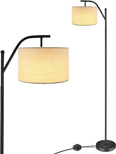 LED Floor Lamp,Anbomo Classic Standing Industrial Arc Light