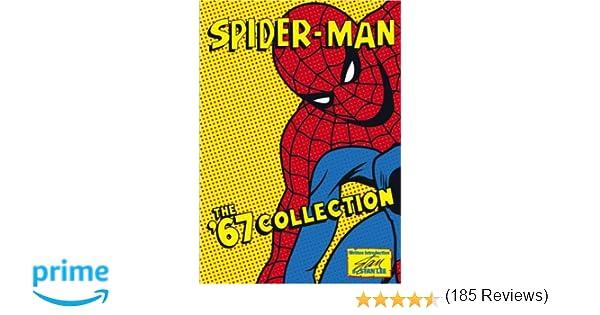 amazoncom spider man the 67 collection 6 volume animated set paul soles peg dixon paul kligman bernard cowan tom harvey gillie fenwick
