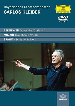Carlos Kleiber:Ciriolan Ovtr / Symp 33 / Symp 4 [DVD] [Import]