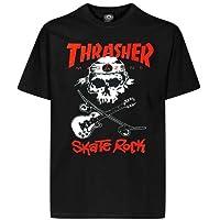 Thrasher rollers t-shirt rock (noir)