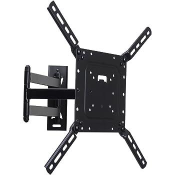 videosecu tv wall mount bracket full motion swing out tilt and swivel articulating. Black Bedroom Furniture Sets. Home Design Ideas