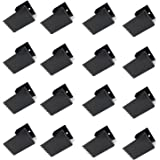 16 Pack Hurricane Window Clips, Black Steel Hurricane Board-Up Clips Fits 1/2 inch Thick Plywood/Brick/Wood & Stucco, Used to