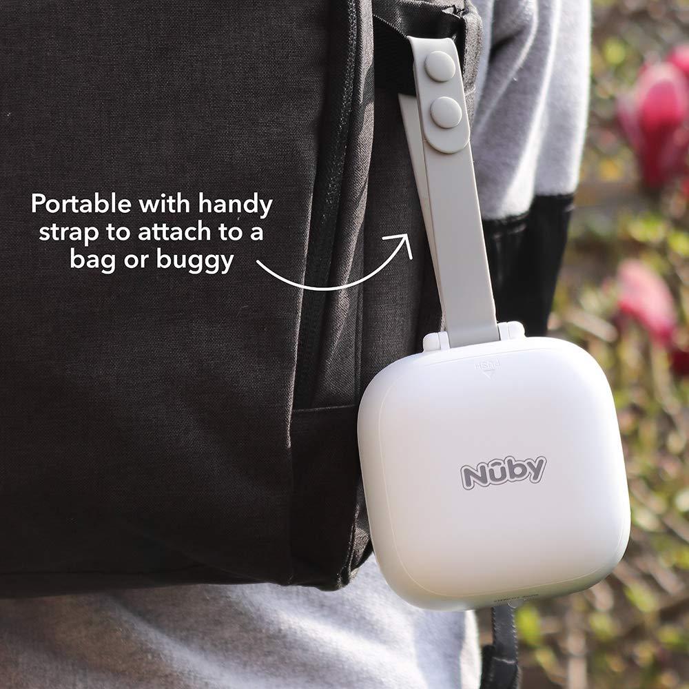 Nuby -Esterilizador portátil para chupetes UV - 1 Chupete ...