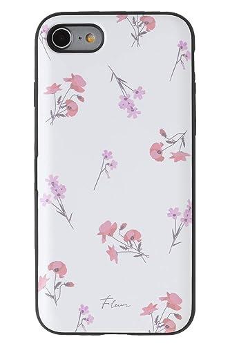 Latootoo iPhoneケース カード収納型ミラー付き(iPhone8/iPhone7)