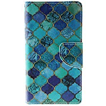 HTC Desire 626 Case, Aboty Leather HTC Desire 626s Wallet Case [Folio Style] [Stand Feature] Magnetic Closure Flip Cover with Credit Card Slots for HTC Desire 626 / 626s (CP07AC2903)