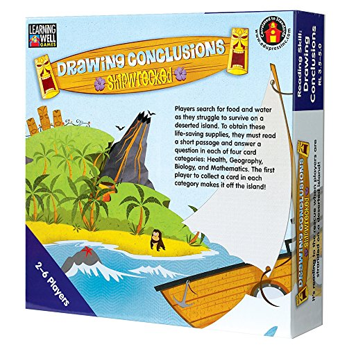 Edupress Drawing Conclusions Game, Blue Level (EP61081)