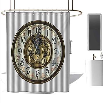 Amazon.com: Coolteey - Cortinas de ducha para baño, diseño ...