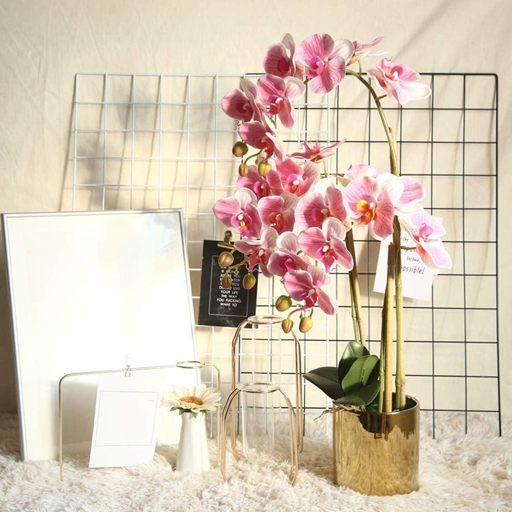 1 Pc Couleur Vive Fleur De Soie Artificielle Papillon Orchid/ée Bricolage F/ête De Mariage Bureau D/écoration De La Maison Blanc de Lait ZqiroLt Fleur Artificielle